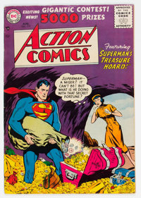 Action Comics #219 (DC, 1956) Condition: VG/FN