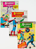 Silver Age (1956-1969):Superhero, Action Comics Group of 8 (DC, 1962-67) Condition: Average FN/VF.... (Total: 8 )