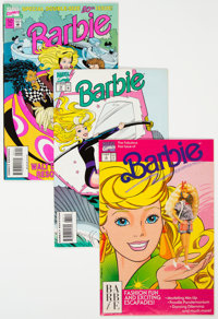 Barbie Near-Complete Series Group of 58 (Marvel, 1991-96) Condition: Average VF/NM.... (Total: 58 Comic Books)