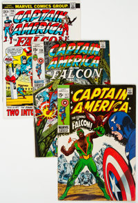Captain America Short Box Group (Marvel, 1968-78) Condition: Average VG/FN