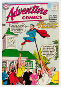 Silver Age (1956-1969):Superhero, Adventure Comics #252 (DC, 1958) Condition: VF-....