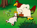 """Animation Art:Limited Edition Cel, Foghorn Leghorn """"Let's Play Croquet"""" Limited Edition Cel, SP 6/8 (Warner Brothers, 1991). ..."""