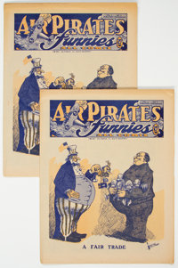 Air Pirates Funnies #1 Group of 2 (Hell Comics Group, 1972) Condition: Average FN/VF.... (Total: 2 )