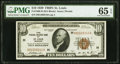 Fr. 1860-H $10 1929 Federal Reserve Bank Note. PMG Gem Uncirculated 65 EPQ
