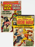 Silver Age (1956-1969):Superhero, Tales of Suspense #58 and 59 Group (Marvel, 1964) Condition: Average VG-.... (Total: 2 )