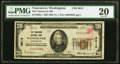 Vancouver, WA - $20 1929 Ty. 1 The Vancouver National Bank Ch. # 6013 PMG Very Fine 20