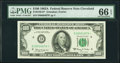 Low Serial Number 4879 Fr. 2163-D* $100 1963A Federal Reserve Star Note. PMG Gem Uncirculated 66 EPQ