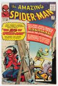 Silver Age (1956-1969):Superhero, The Amazing Spider-Man #18 (Marvel, 1964) Condition: FN+....