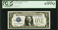 Fr. 1600* $1 1928 Silver Certificate Star. PCGS Choice New 63PPQ