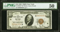 Fr. 1860-B* $10 1929 Federal Reserve Bank Star Note. PMG About Uncirculated 50