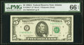 Small Size:Federal Reserve Notes, Fr. 1980-F* $5 1988A Federal Reserve Star Note. PMG Gem Uncirculated 66 EPQ.. ...