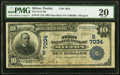 Milton, FL - $10 1902 Date Back Fr. 616 The First National Bank Ch. # (S)7034 PMG Very Fine 20