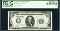 Fr. 2151-G $100 1928A Dark Green Seal Federal Reserve Note. PCGS Choice New 63PPQ