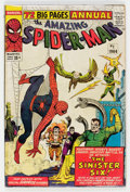 Silver Age (1956-1969):Superhero, The Amazing Spider-Man Annual #1 (Marvel, 1964) Condition: Apparent GD....