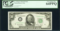 Fr. 2107-I $50 1950 Mule Federal Reserve Note. PCGS Very Choice New 64PPQ