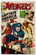 Silver Age (1956-1969):Superhero, The Avengers #4 (Marvel, 1964) Condition: Apparent GD-....
