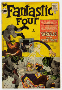 Fantastic Four #2 (Marvel, 1962) Condition: Apparent GD-
