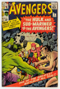 Silver Age (1956-1969):Superhero, The Avengers #3 (Marvel, 1964) Condition: Apparent GD....