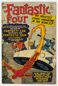 Fantastic Four #3 (Marvel, 1962) Condition: Apparent GD