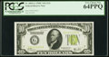 Fr. 2003-G $10 1928C Federal Reserve Note. PCGS Very Choice New 64PPQ