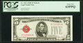 Small Size:Legal Tender Notes, Fr. 1531 $5 1928F Wide II Legal Tender Note. PCGS Choice New 63PPQ.. ...