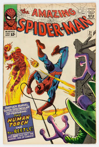 The Amazing Spider-Man #21 (Marvel, 1965) Condition: FN