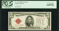 Small Size:Legal Tender Notes, Fr. 1531 $5 1928F Narrow Legal Tender Note. PCGS Very Choice New 64PPQ.. ...