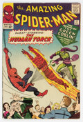 Silver Age (1956-1969):Superhero, The Amazing Spider-Man #17 (Marvel, 1964) Condition: VG+....
