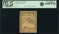 Colonial Notes:Continental Congress Issues, Continental Currency February 17, 1776 $1/2 Fr. CC-21 PCGS Very Choice New 64PPQ.. ...
