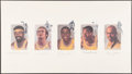 "Autographs:Photos, Los Angeles Lakers ""Legends"" Multi-Signed Lithograph..."
