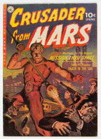 Crusader from Mars #1 (Ziff-Davis, 1952) Condition: FN-