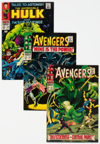 Marvel Silver Age Comics Group of 4 (Marvel, 1960s) Condition: Average VF.... (Total: 4 Comic Books)
