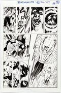 Original Comic Art:Panel Pages, Steve Rude Future Quest Presents #7 Birdman Story Page 10 Original Art (DC, 2018)....