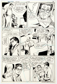 Curt Swan and Joe Giella Superman #359 Story Page 4 Original Art (DC Comics, 1981)