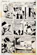 Original Comic Art:Comic Strip Art, George Tuska and Vince Colletta Power Man #18 Story Page 32 Original Art (Marvel Comics, 1974)....