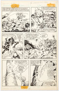 John Buscema and Marie Severin Epic Illustrated #11 Story Page 13 Original Art (Marvel, 1982)