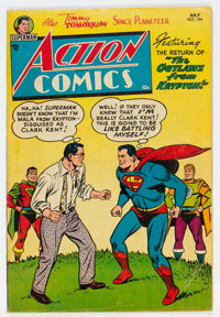 Action Comics #194 (DC, 1954) Condition: VG+