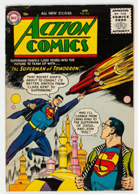 Action Comics #215 (DC, 1956) Condition: VG+
