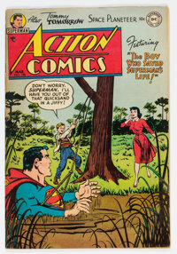 Action Comics #190 (DC, 1954) Condition: VG