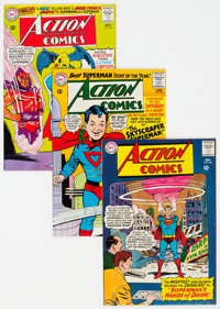 Action Comics Group of 7 (DC, 1963-65) Condition: Average VF.... (Total: 7 Comic Books)
