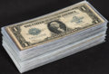 Large Size:Silver Certificates, Fr. 237/238 $1 1923 Silver Certificates 101 Examples Very Good or Better.. ... (Total: 101 notes)