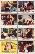 "Movie Posters:Romance, Torch Song & Other Lot (MGM, 1953). Fine+. Lobby Card Sets of 8 (2 Sets) (11"" X 14""). Romance.. ... (Total: 16 Items)"