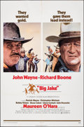 "Movie Posters:Western, Big Jake (National General, 1971). Folded, Fine+. One Sheet (27"" X 41"") & Spanish Photos (5) (8"" X 10""). Western.. ..."