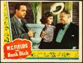 "Movie Posters:Comedy, The Bank Dick (Universal, 1940). Fine+. Trimmed Lobby Card (10.5"" X 14""). Comedy.. ..."