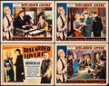 "Movie Posters:Mystery, Discarded Lovers (Capitol Film Exchange, 1932). Overall: Fine+. Title Lobby Card & Lobby Cards (3) (11"" X 14""). Mystery.. ... (Total: 4 Items)"