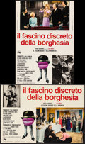 Movie Posters:Foreign, The Discreet Charm of the Bourgeoisie (20th Century Fox, 1972). Folded, Very Fine-. Vertical Italian Photobusta & Horizontal... (Total: 2 Items)