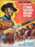 "Movie Posters:Western, For a Few Dollars More (United Artists, 1967). Folded, Very Fine. French Moyenne (22.75"" X 30.5""). Vanni Tealdi Artwork. Wes..."