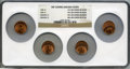 1999 1C Lincoln Cent -- 15% Off Center -- MS64 Red NGC. This lot will also include the following: 1999 1C Lincoln Cent...