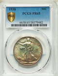 1938 50C PR65 PCGS. PCGS Population: (851/960 and 1/38+). NGC Census: (460/891 and 1/10+). CDN: $600 Whsle. Bid for prob...