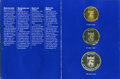 "Aland Islands, Aland Islands: Autonomous 3-Piece Uncertified ""Plain Edge"" Mint Set 1991 Prooflike, ... (Total: 3 coins)"